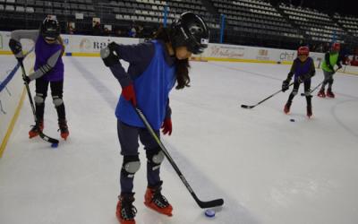 Les deux faces de la rencontre USEP Hockey