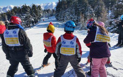 1000 enfants dans les neiges catalanes avec l'Usep