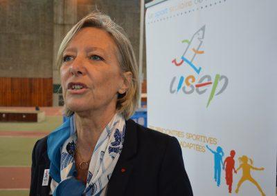 Sophie Cluzel, secrétaire d'État aux personnes handicapées