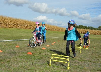 Parcours bike and run