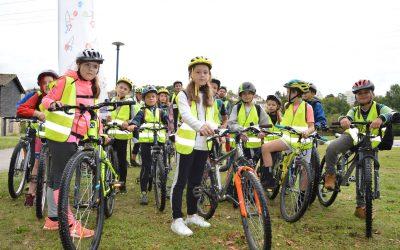 Savoir Rouler à Vélo : à Saint-Just, une évidence