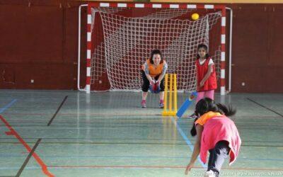 Le cricket à l'école