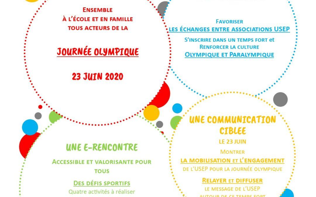 La e-rencontre Journée Olympique 2020