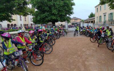 Semaine du vélo (4) : dans l'Ain, les mobilités douces rapprochent école et mairie