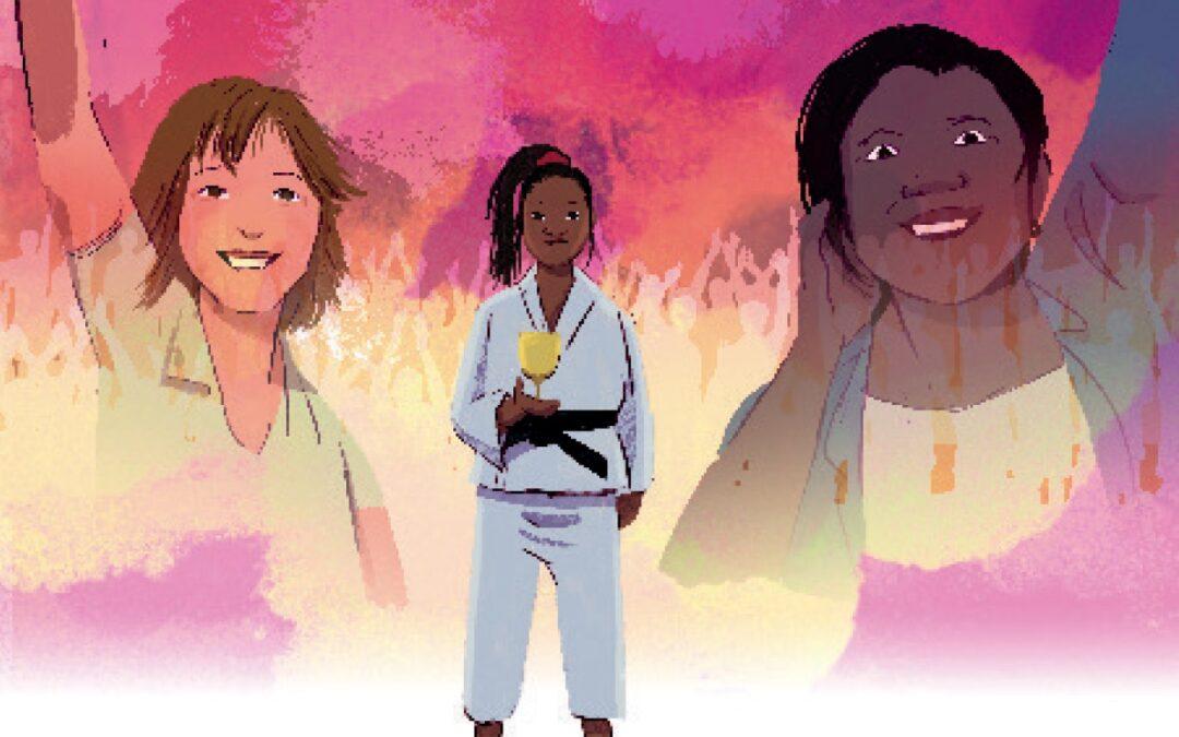 Clarisse Agbégnénou, la voie du judo