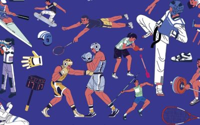 Deux livres pour connaître tous les sports